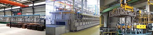 专用热处理生产线投入市场