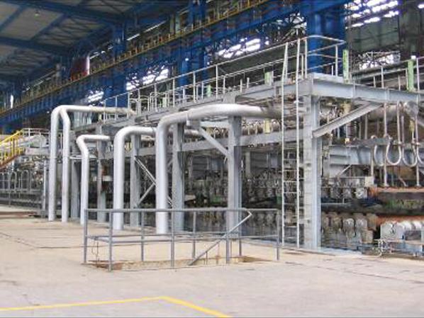 中门子钢铁热处理炉的几种工艺和特点