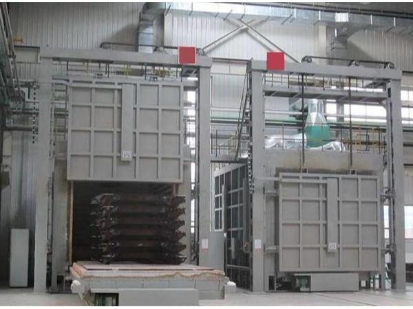 台车式强热风循环炉的结构简介