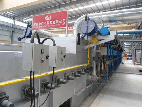 铝合金退火炉的主要部件及功能