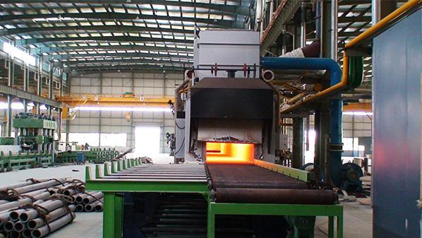 浙江久立特材科技公司与中门子合作固溶炉项目