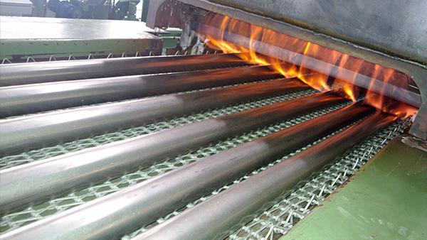 网链式不锈钢核级管固溶炉