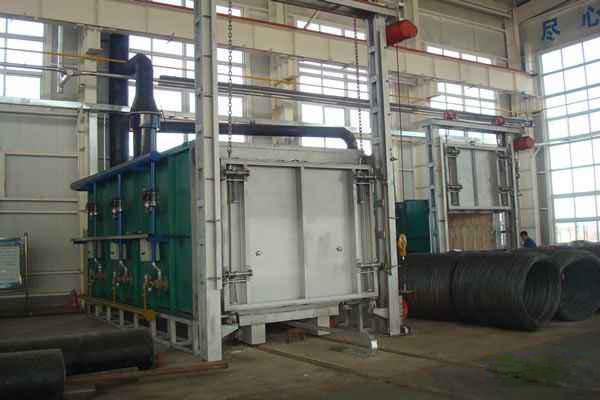 节能型全纤维台车炉