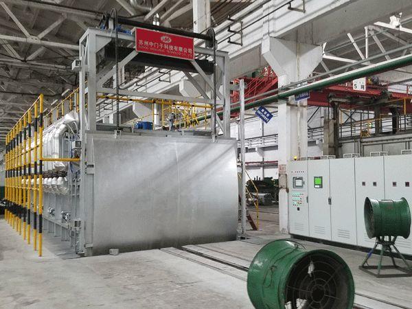 铝合金退火台车炉