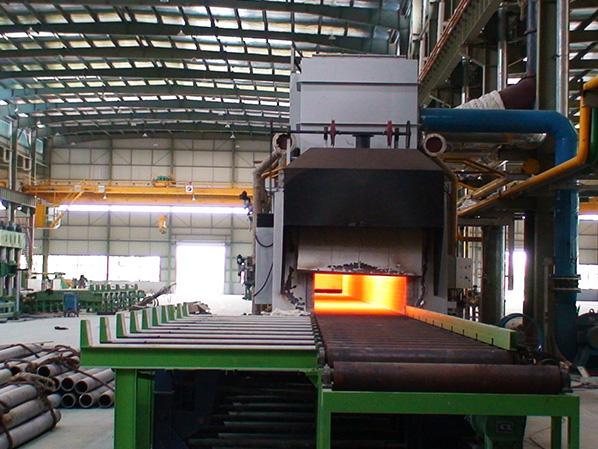 辊底式不锈钢管固溶炉成功研发