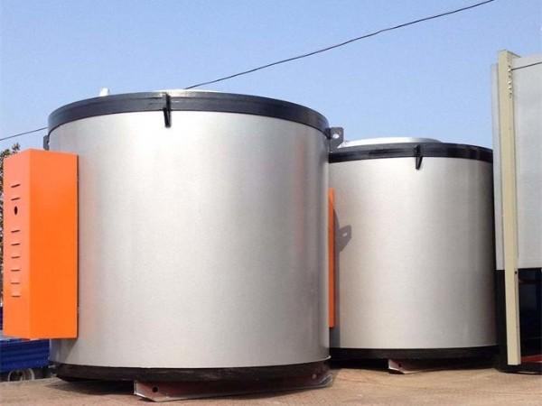 井式环件热处理炉的组成