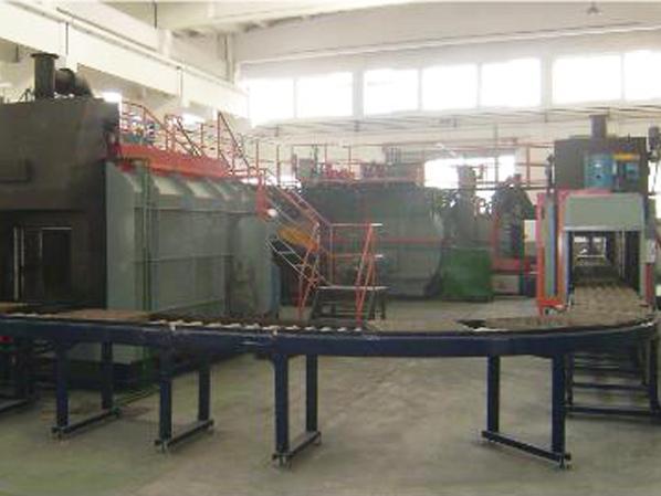 连续式热处理炉的热处理工艺与问题分析