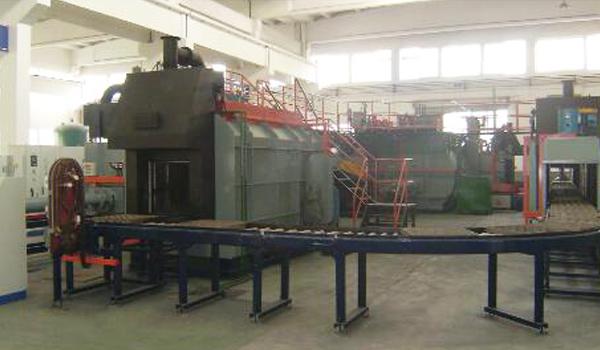 连续炉热处理炉的热处理工艺与问题分析